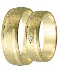 Snubní prsten Harmony 24