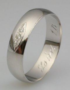 Snubní prsten Soňa 1/B