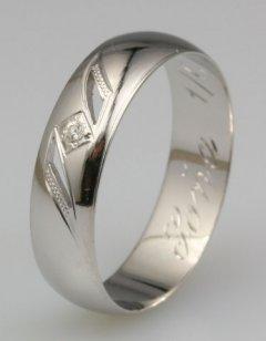 Snubní prsten Soňa 1/C