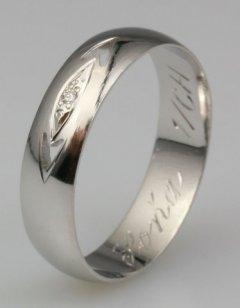 Snubní prsten Soňa 1/CH