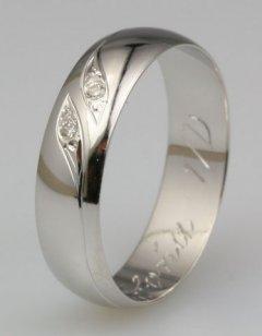 Snubní prsten Soňa 1/D
