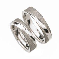 Ocelové snubní prsteny SRP0100