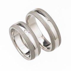 Ocelové snubní prsteny SRP4700