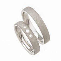 Ocelové snubní prsteny SRP1400
