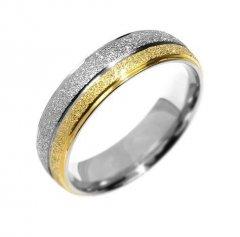 Ocelový snubní prsten RRC0365