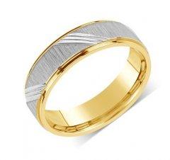 Ocelový snubní prsten RRC140