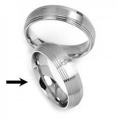 Ocelový snubní prsten RRC2030z