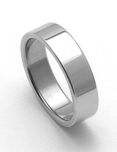 Ocelový snubní prsten RZ06000