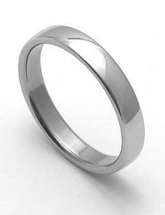 Ocelový snubní prsten RZ14000