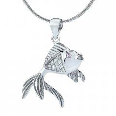 Stříbrný přívěsek rybička