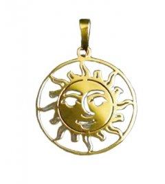 Zlatý přívěsek - Slunce