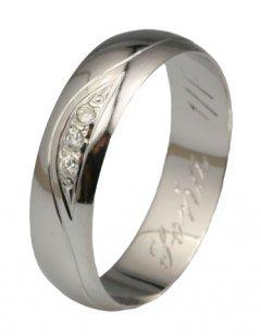 Snubní prsten Soňa 1/F