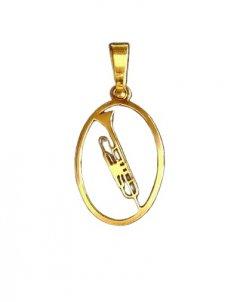 Zlatý přívěsek - Trumpeta