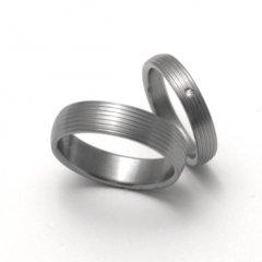 Titanové snubní prsteny STT0600