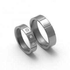 Titanové snubní prsteny STT2000 - pár