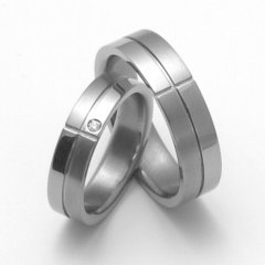 Titanové snubní prsteny STT2100 - pár
