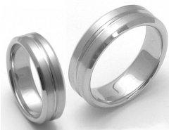 Titanové snubní prsteny STT3100 - pár