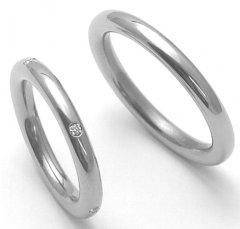 Titanové snubní prsteny STT3200 - pár