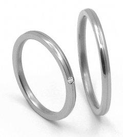 Titanové snubní prsteny 39