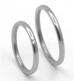 Titanové snubní prsteny STT4000 - pár