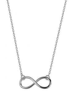 Stříbrný náhrdelník Infinity 20 mm
