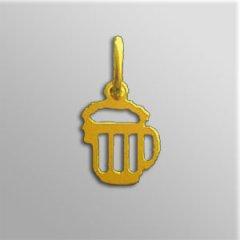 Zlatý přívěsek - Pivo mini