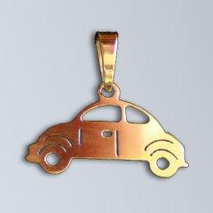 Zlatý přívěsek - Auto