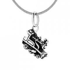 Stříbrný přívěsek - lokomotiva