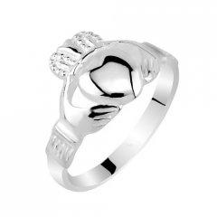 Stříbrný prsten CLADDAGH