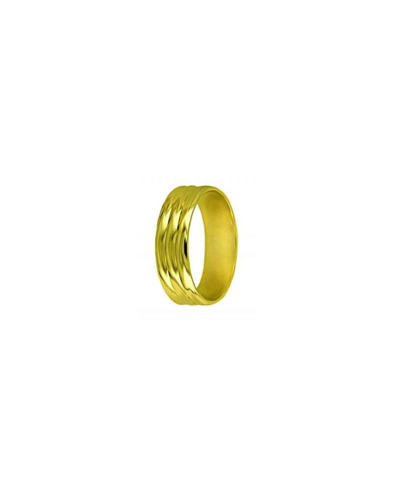 Snubni Prsten A2 Zlute Zlato Zlato Stribro Cz