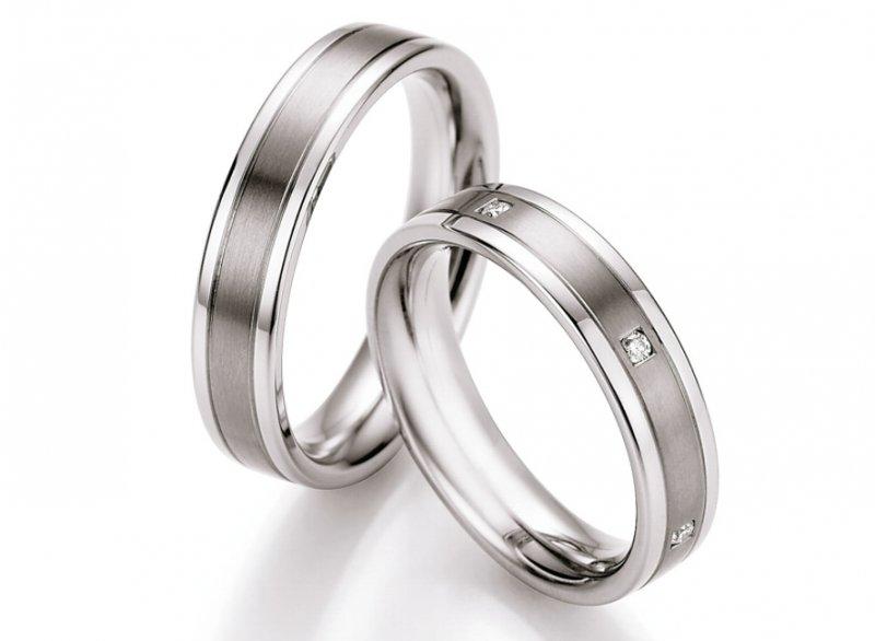 Snubni Prsteny Ocel Titan S Diamanty Dts0607p Zlato Stribro Cz