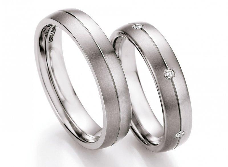 Snubni Prsteny Ocel Titan S Diamanty Dts0608p Zlato Stribro Cz