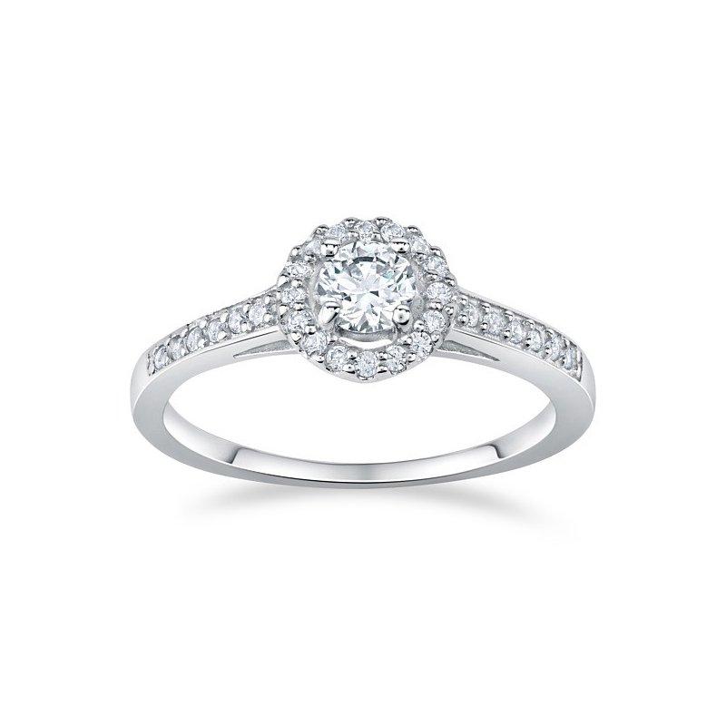 Stříbrný prsten se zirkony AMELIA  0f963aee953