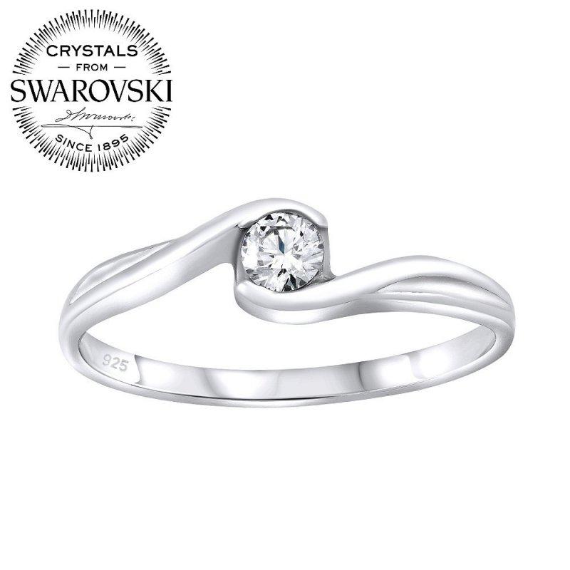 Stříbrný prsten se Swarovski® Crystals  7ff98930ddc
