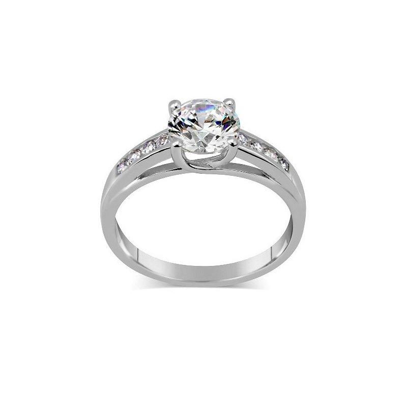 Stříbrný prsten Exclusive se Swarovski zirconia  d38ed5d0dcf